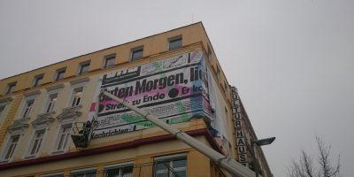 Banner mit Rahmen